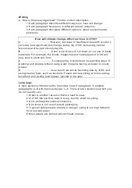 topic essay topic sentences
