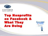 Top Nonprofits on Facebook & What They Are Doing