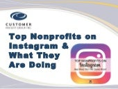 Top Nonprofits on Instagram and What They Are Doing Right