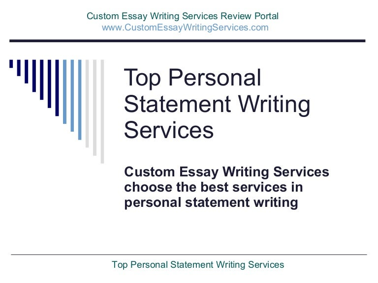 Top 20 Personal Statement Writing Services of