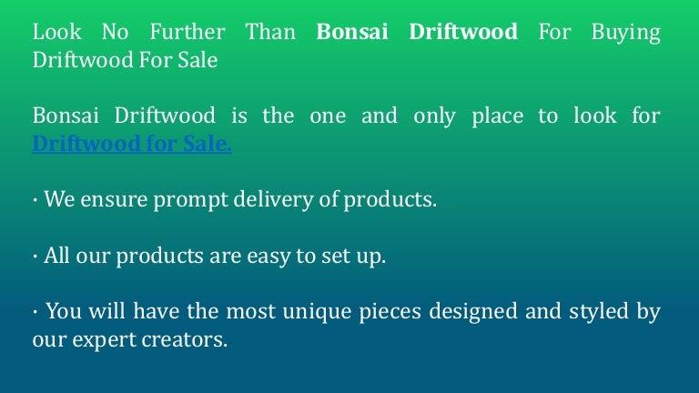 Top Quality Aquarium Driftwood