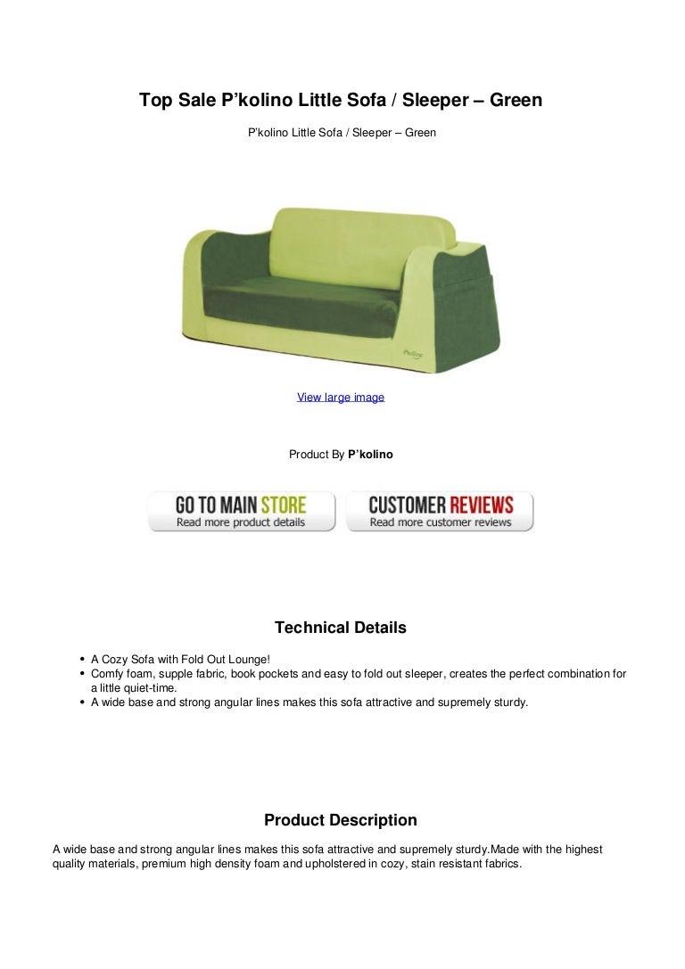 top sale pkolino little sofa sleeper green rh slideshare net