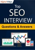 Top 35 SEO Interview Questions & Answers Guide