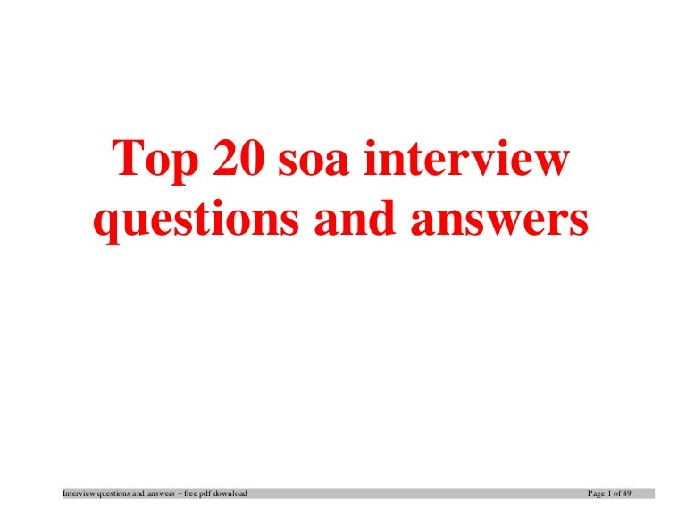 top soa interview questions and answers job interview tips - Investment Banking Interview Questions Answers Guide Tips