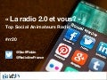 Top social animateurs radio Radioline @ Radio 2.0 2015