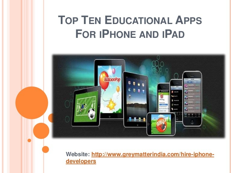 Top Ten Apps For Ipad