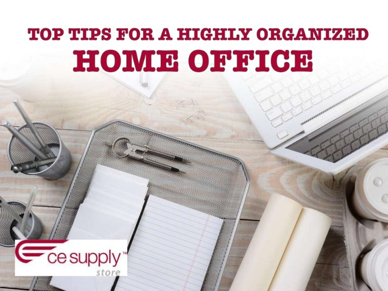 Top Tips For A Highly Organized Home Office,Colors That Go Well With Red And White