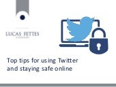 Top tips for using Twitter - and staying safe online