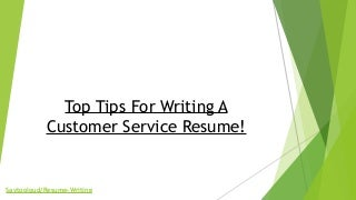 resume writing service review