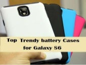 Top Trendy battery Cases for Galaxy S6