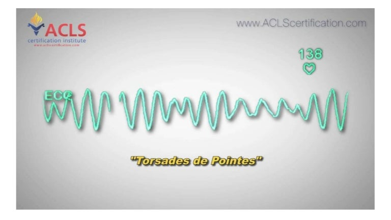 acls torsades pointes certification institute