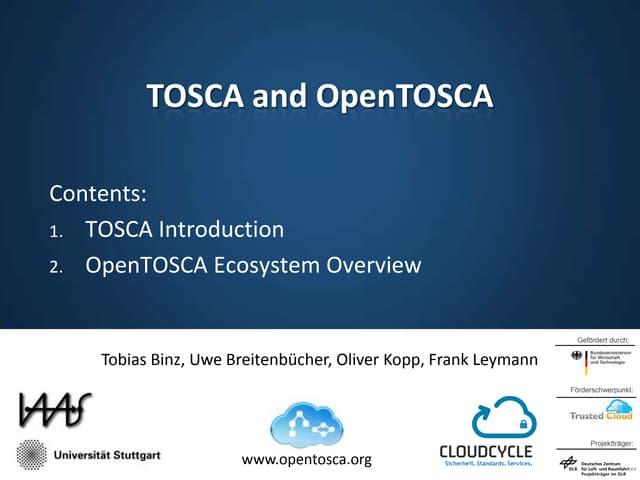 Open Tosca
