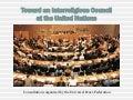 Towards an Interreligious Council at the UN