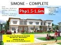 Simone model in Cybergreen,house and lot for sale in cavite,townhouse rush rush for sale,house and lot rush rush for sale,affordable houses in cavite,affordable properties rush for sale in cavite