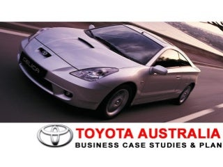 Toyota Production System (Bussiness Case Studies & Plan)