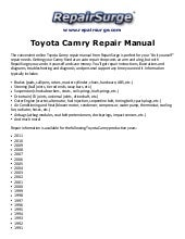 toyotacamryrepairmanual1990 2011 141114131728 conversion gate02 thumbnail?cb=1415971633 toyota camry service & repair manual 1987, 1988, 1989, 1990, 1991 toyota wire harness repair manual at eliteediting.co