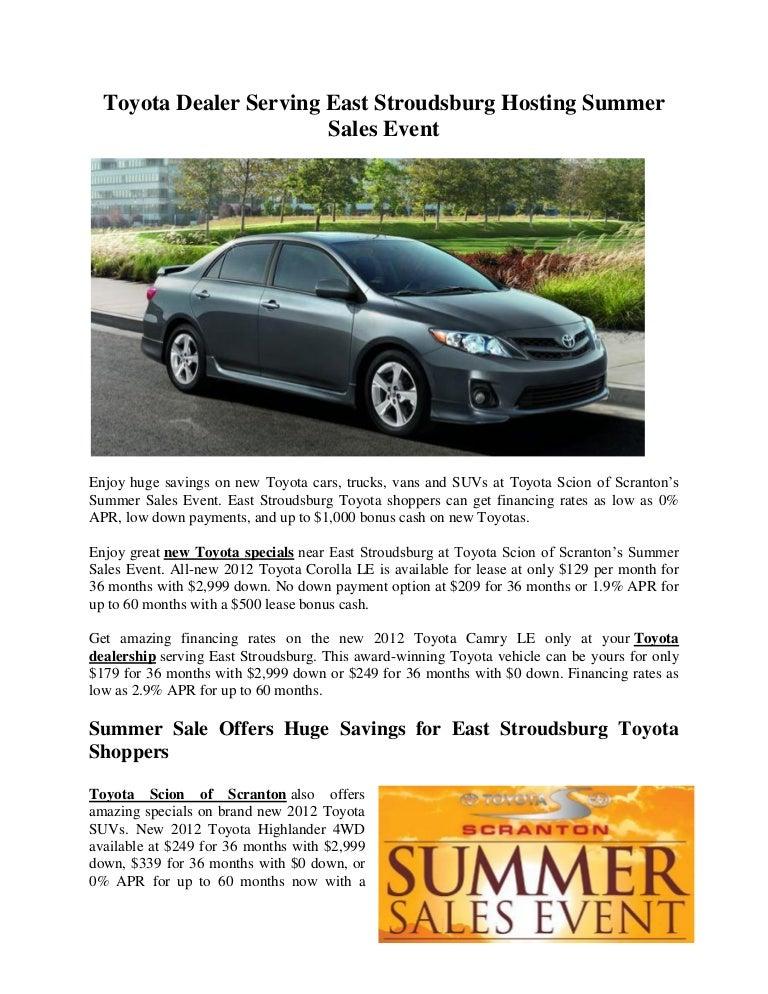 Toyotadealerservingeaststroudsburghostingsummersalesevent 120627103219 Phpapp02 Thumbnail 4?cbu003d1340793171