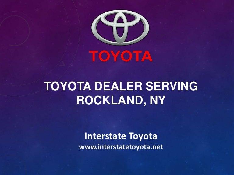 Toyota Dealer Serving Rockland Ny