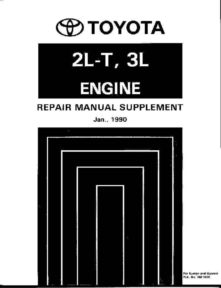 toyota 2l te engine manual