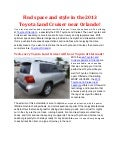 Toyota of Clermont will offer the new Toyota Land Cruiser!