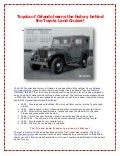 Toyota of Orlando learns the history behind the Toyota Land Cruiser!