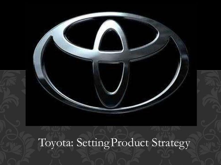 toyota branding strategy ppt