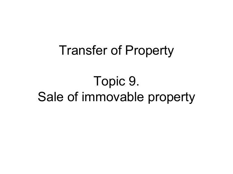 define movable property