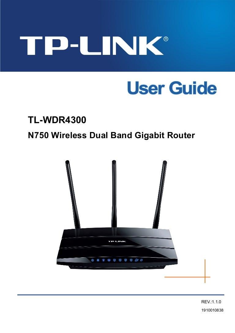 Tp Link N750 Wdr 4300 Router User Guide Diagram Besides Gear Setup On Netgear Hook Up