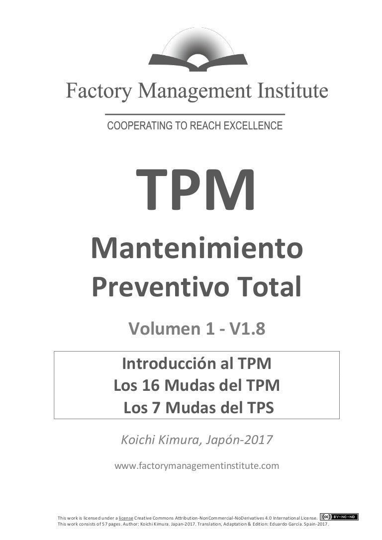 TPM 1 introducción