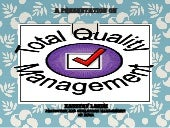 Total Quality Management Project Charter for HP India