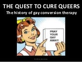 Exodus to Nowhere - the quest to cure queers