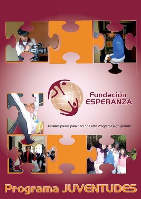 Programa JUVENTUDES - INFORME 2012