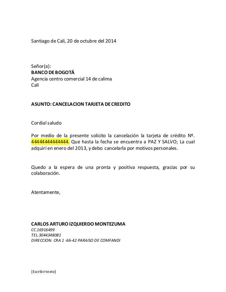 Trabajo carta en word for Solicitud de chequera