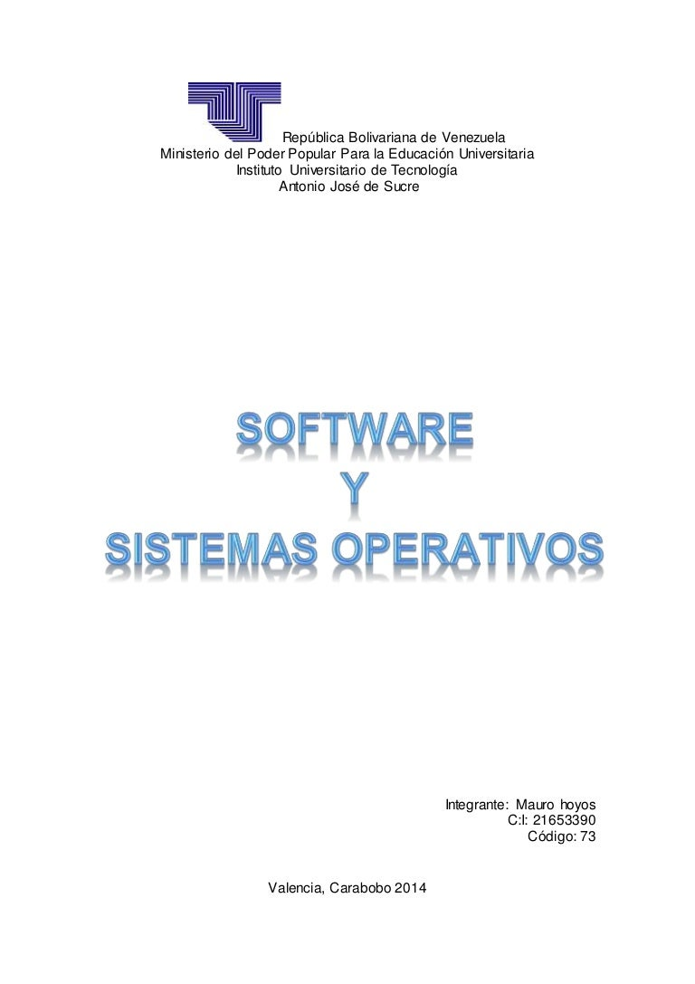 mauro hoyos software y sistemas operativos