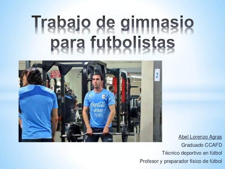 rutina de ejercicios para futbolistas pdf