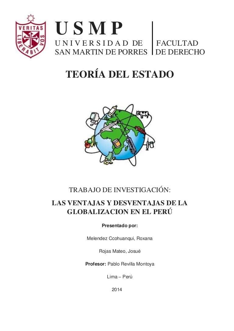 LAS VENTAJAS Y DESVENTAJAS DE LA GLOBALIZACIÓN EN EL PERÚ fe905f229dd