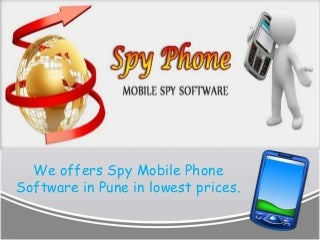 Track GPS Location With Spy Mobile Phone Software In Pune