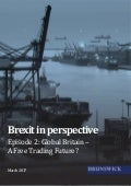 Trade and Brexit