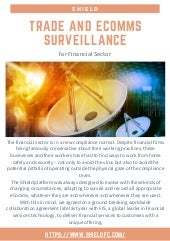 Trade and eComms Surveillance for Financial Sector - Shield