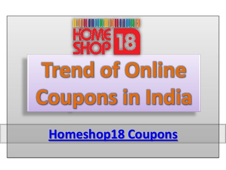 Trade Of Online Coupon In India