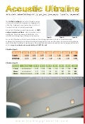 Acoustic Ultraline: High-Performance Noise Reduction, Natural Fiber, Durable, Aesthetic