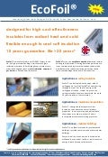 Eco-Foil: high performance insulation, affordable price