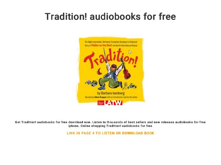 fiddler on the roof music free download