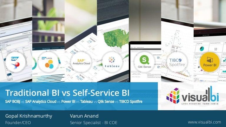 Traditional Bi Vs Self Service Bi