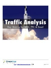 Web Traffic Analysis - Key Business Metrics SEO, PPC and Email