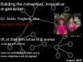 Building the Networked, Innovative Organization