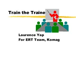Train the trainer Training