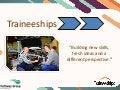 Traineeship information from Pathway Group, Birmingham