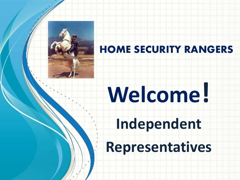 Home Security Rangers Training For Reps