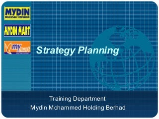 Training Strategy ppt